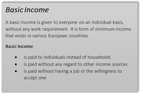 "ess basic income opinion essay the best essays will be published online the definition of ""basic income"" as published on the website of bien the basic income earth network"